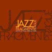Design pro debutové CD jazzové kapely Jazz Fragment Prague návrh 1